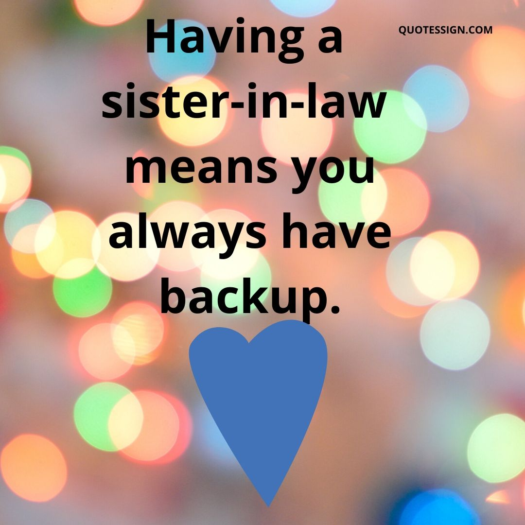 quotes for sister in law