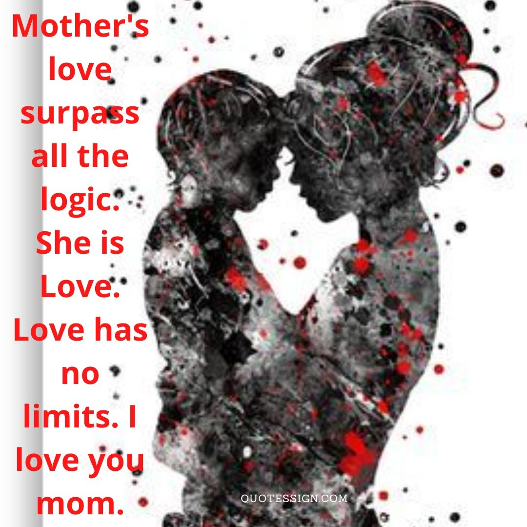 I love you mother quotes