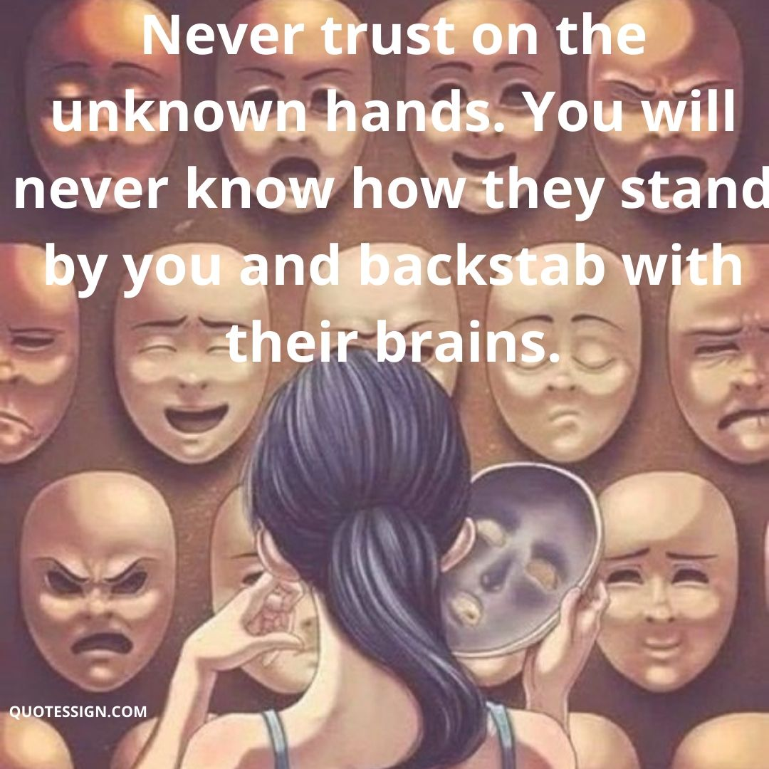 Quotes for back stabber friend