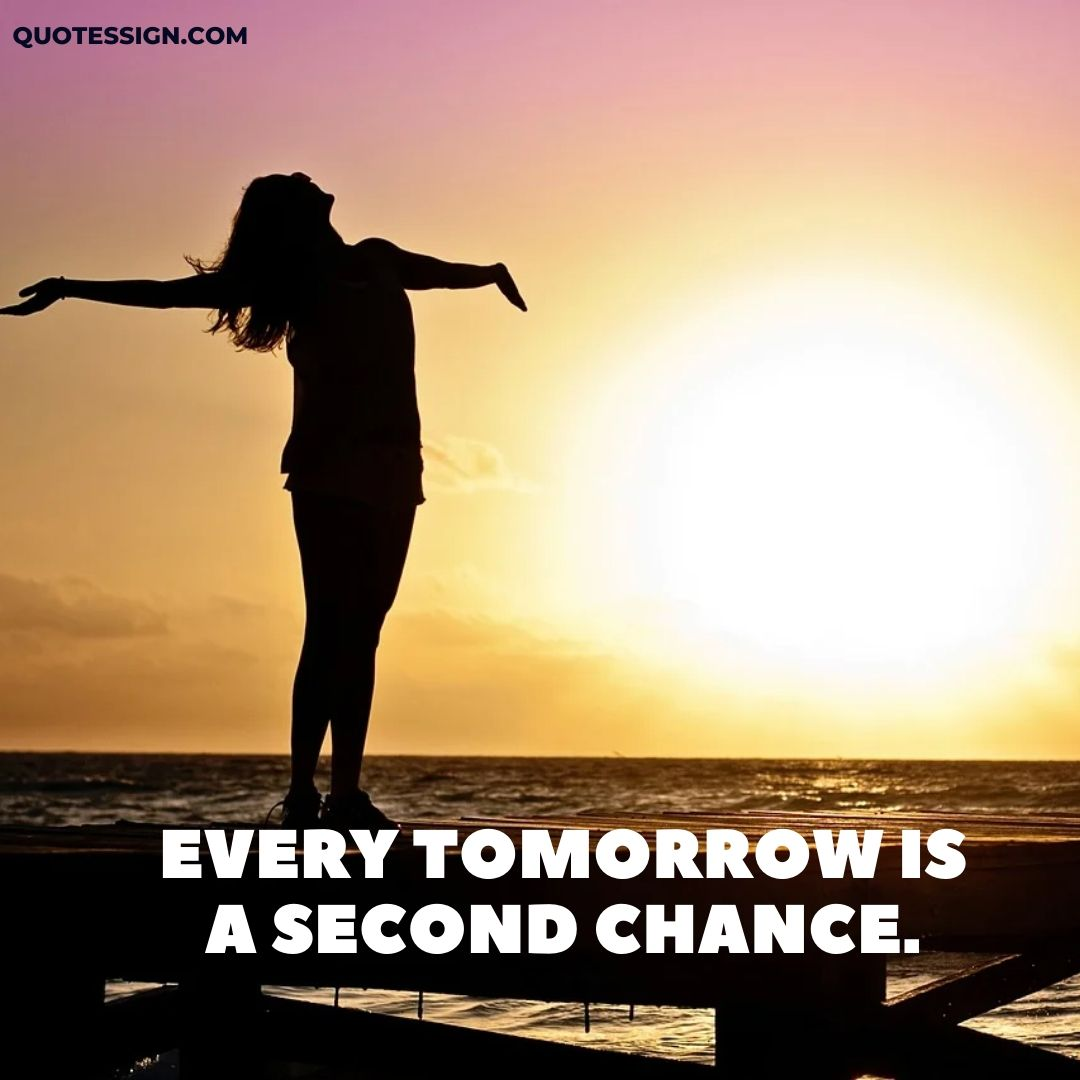 second chance positive quotes