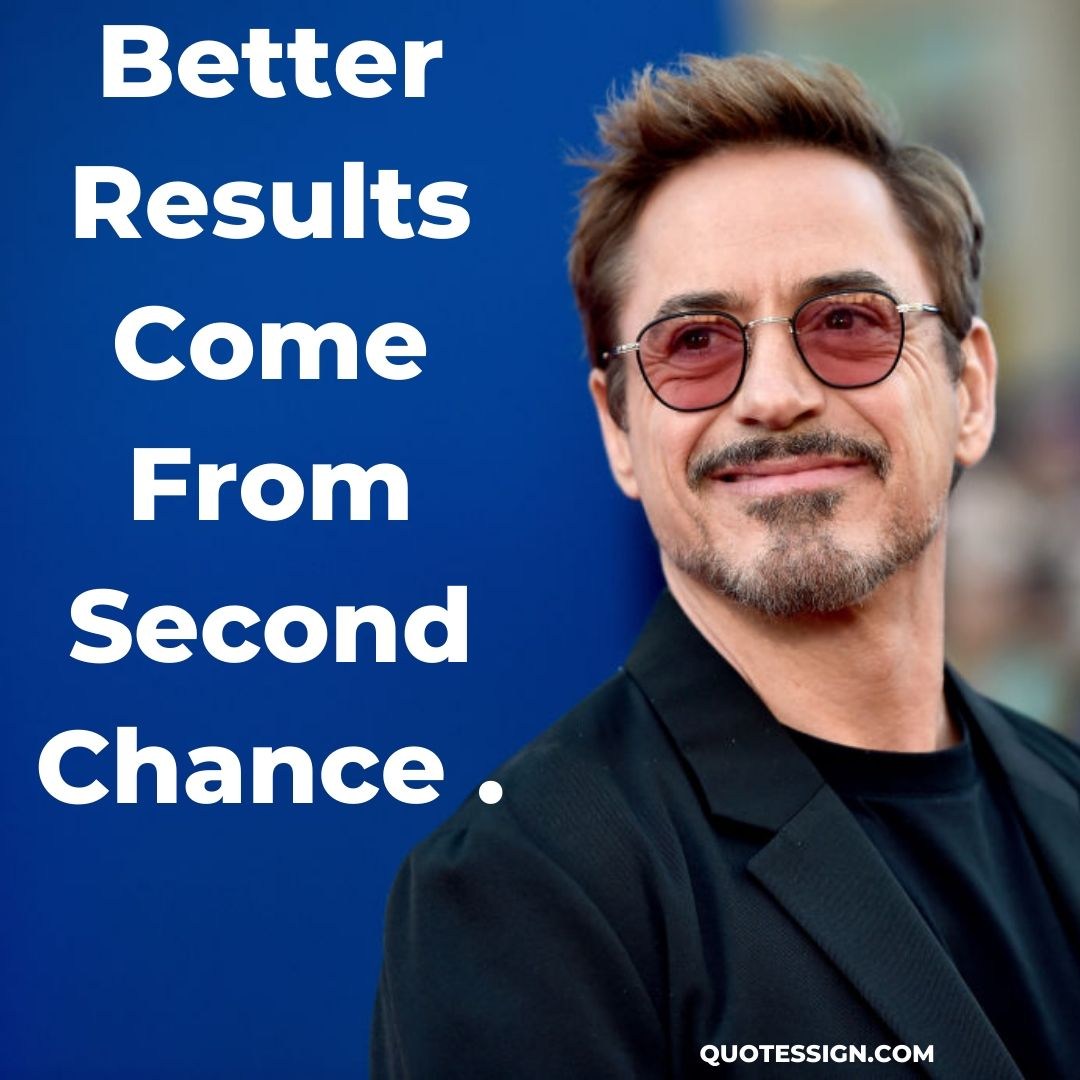 iron man second chance