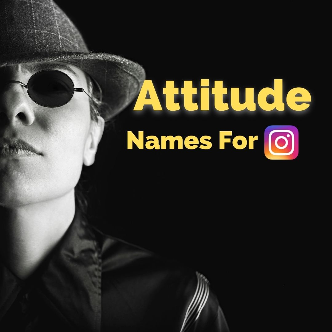 attitude namees for boys